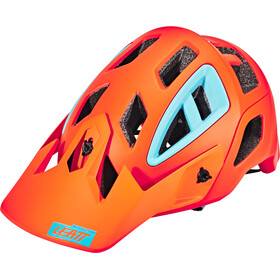 Leatt Brace DBX 3.0 All Mountain Helmet orange
